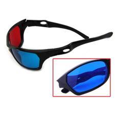 Hình ảnh Màu Xanh đỏ 3D Mắt Kính Nhìn Xuyên (Quốc Tế)