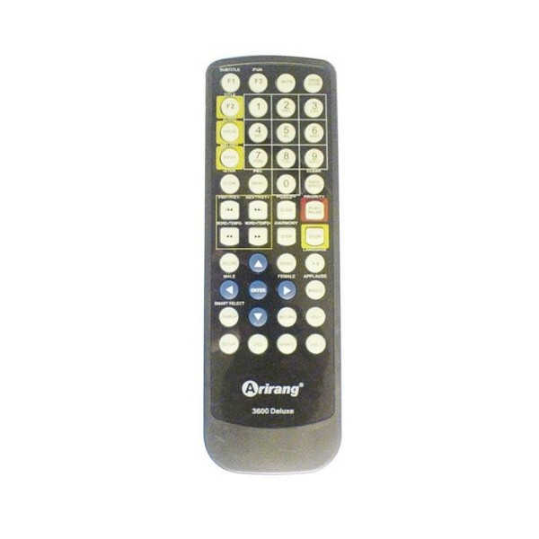 Bảng giá Remote Đầu karaoke Arirang AR-3600 /3600Deluxe /3600Deluxe A /3600HDD /3600HDMI