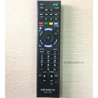 Remote Điều Khiển Tivi Sony, Dùng cho Tivi Sony có cùng dòng điều khiển với mã Model L1165, Bảo Hành 1 Tháng thumbnail