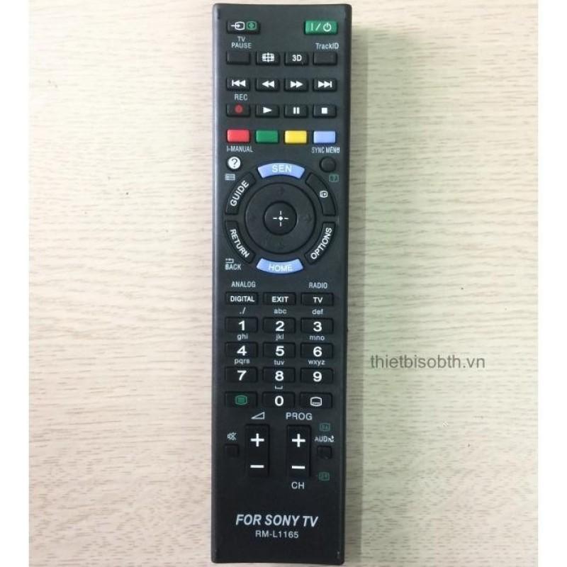 Bảng giá Remote Điều Khiển Tivi Sony, Dùng cho Tivi Sony có cùng dòng điều khiển với mã Model L1165, Bảo Hành 1 Tháng