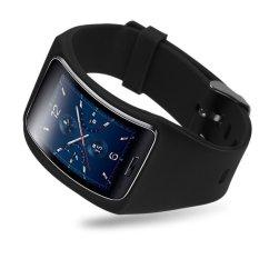 Vòng Dây Đeo Tay Thay Thế Màu Đen Dành Cho Samsung Galaxy Gear S SM-R75 - Quốc Tế