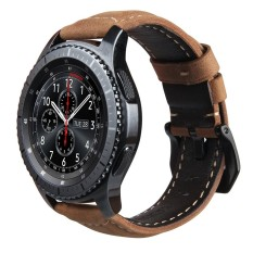 Hình ảnh Replacement Crazy Horse Soft Genuine Leather Strap for Samsung Gear S3 Classic SM-R770 S3 Frontier SM-R760 SM-R765 Smart Watch Band