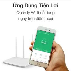 Router Wifi thông minh 300mbps PHICOMM KE 2M 3 Angten Ram 32MB - Hãng phân phối chính thức