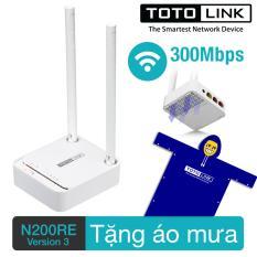 Giá Bán Router Wifi 300Mbps Totolink N200Re V3 Tặng 1 Ao Mưa Hang Phan Phối Chinh Thức Rẻ
