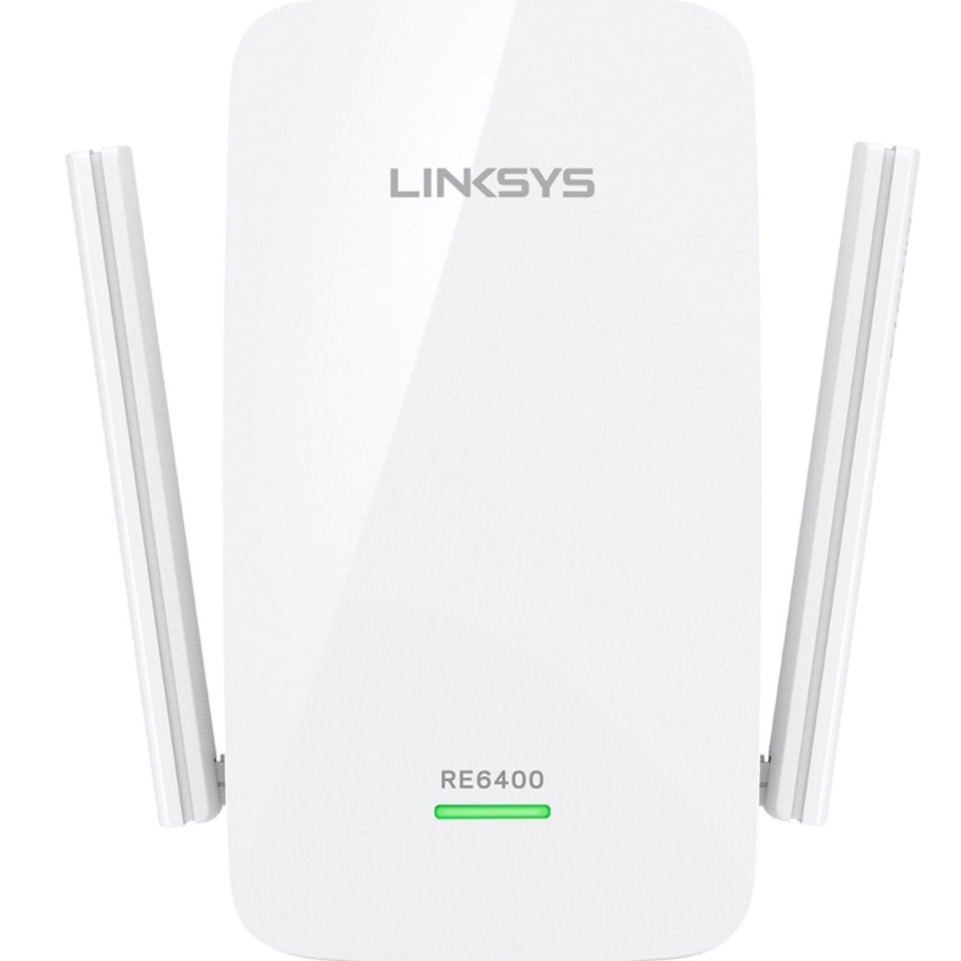 Router Wifi Linksys Re6400 Ac1200 Phát Sóng Băng Tần Kép