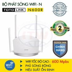 Giá Bán Router Wifi Totolink 600Mbps N600R Trắng Hang Phan Phối Chinh Thức Totolink Tốt Nhất