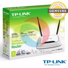 Hình ảnh Router wifi TP-Link TL-WR841N New Edition 2017 (Trắng) Ladano