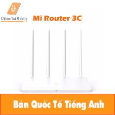 Router Wifi Xiaomi 4 anten Gen 3C ( Bản Quốc Tế Tiếng Anh)