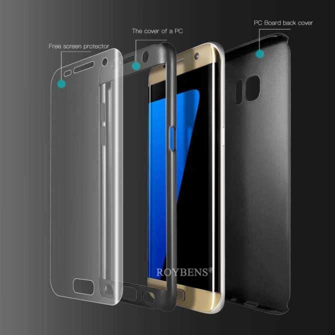 ... Soft TPU Case Front + BackCover For Samsung Galaxy S7. Source · Roybens 360 Degree Full Body Protect Hard Slim Case Cover with Screen Protector .