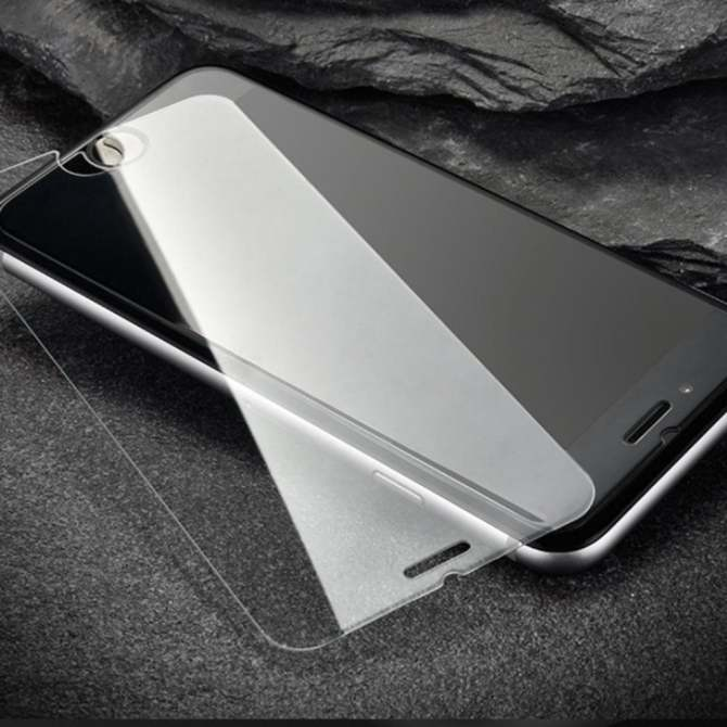 ROYBENS Ultra thin Aluminum Metal Tempered Glass Clear Case For iPhone 7 Silver - intl