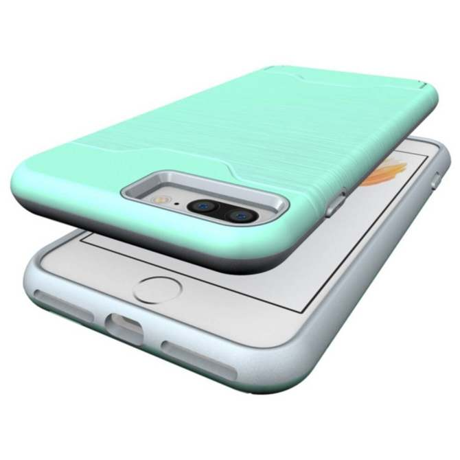 TPU +PC Shockproof Card Slot Protective Cover GoldTHB232. THB 232. RUILEAN Dual Layer