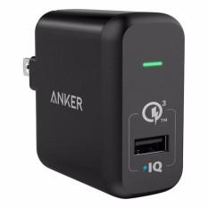 Mua Sạc Anker Powerport 1 Cổng 18W Quick Charge 3 Co Poweriq Đen Anker Nguyên