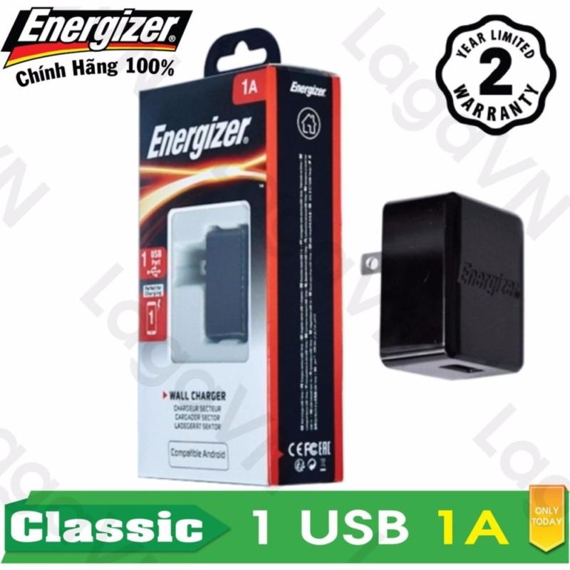 Sạc cao cấp Energizer CL 1A 1USB - ACA1AUSC
