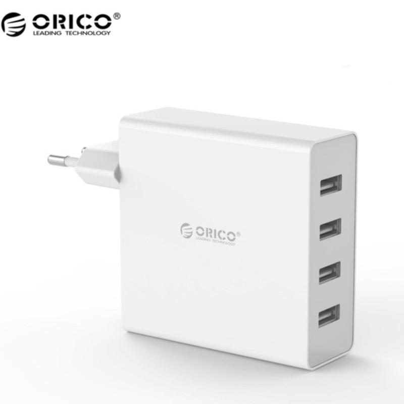 Giá Sạc điện thoại USB 4 cổng 2.4A Orico DCW-4U(Trắng)