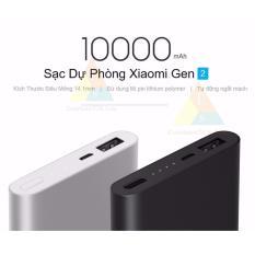 Sạc Dự Phòng Xiaomi 10000mah Gen 2 Thiết Kế Mỏng Thời Trang