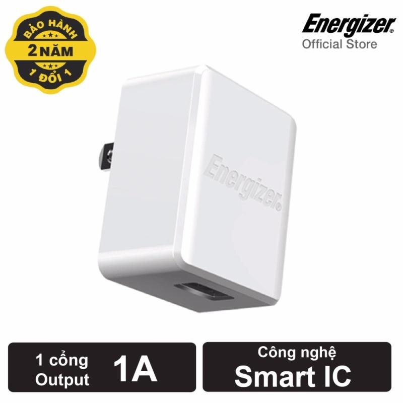 Sạc Energizer CL 1A 1 cổng màu trắng_ACA1AUSCWH3