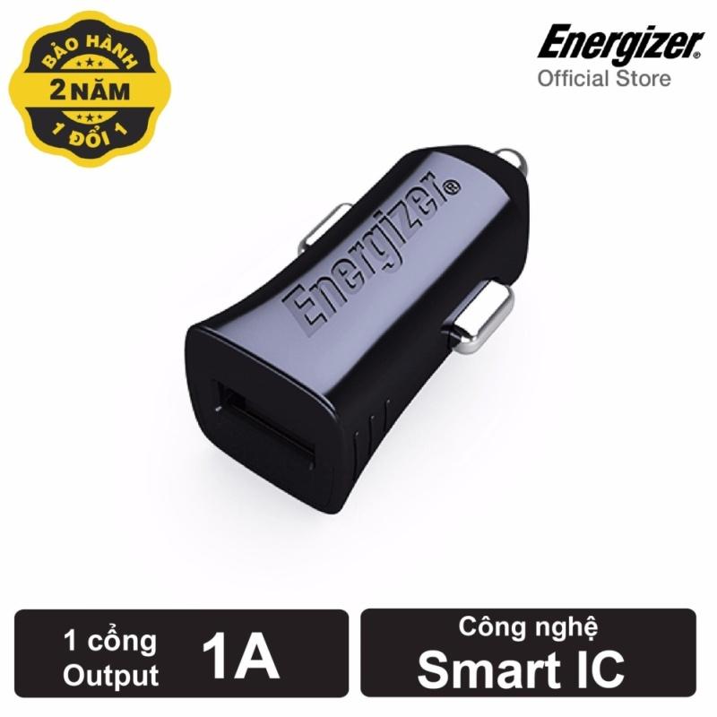 Sạc Energizer CL dùng cho Ô tô 1A 1 cổng màu đen_DCA1ACBK3