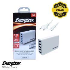 Mua Sạc Energizer Usb Station Cl 5 Cổng 25W Eu Trắng Usa5Ceucwh5 Hang Phan Phối Chinh Thức Energizer Nguyên