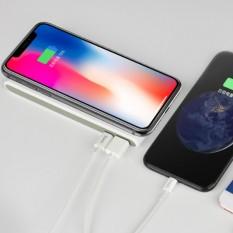 Sạc Khong Day Chuản Qi Kiem Pin Dự Phong 8000 Mah Cho Các Dòng Smartphone Iphone 8 Iphone X Note8 Hoco B32 Rẻ