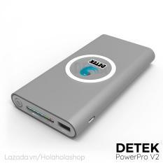 Hình ảnh Sạc không dây Detek PowerPro V2 tích hợp Pin dự phòng 12000Mah (5W) - Hãng Phân Phối Chính Thức