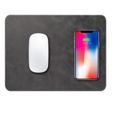 Sạc không dây kiêm bàn di chuột cho Iphone X/8/8 Plus Mouse Pad - Hàng nhập khẩu