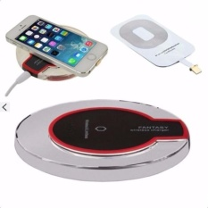 Sạc Không Dây Thông Minh Chuẩn Qi + Tặng Chip Sạc Dành Cho iPhone