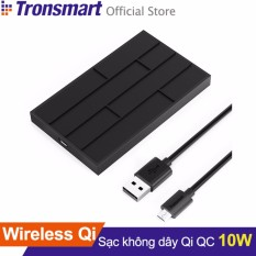 Mua Sạc Khong Day Tronsmart Wq10 10W Quick Charge 2 Cho Iphone 8 8 Plus Iphone X Android Samsung Hang Phan Phối Chinh Thức Tronsmart Nguyên