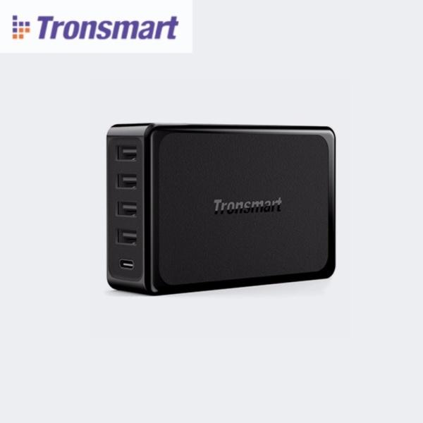 Sạc nhanh 5 cổng VoltIQ tích hợp cổng USB-C PD (60W) Tronsmart U5P