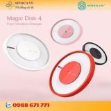 Bán Bộ Sạc Nhanh Khong Day Nillkin Magic Disk 4