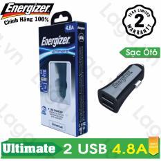 Giá Bán Sạc O To Cao Cấp Energizer Ul 2 Cổng Usb 4 8A Dca2Dubk3 Hồ Chí Minh
