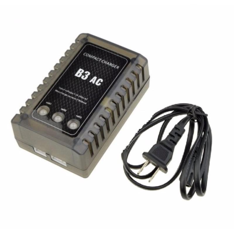 Sạc pin Lipo 2S 3S 7.4V 11.1V B3AC có chức năng cân bằng volt pin, tự ngắt, có đèn báo, cho đồ chơi điều khiển từ xa RC Flycam Drone Trực thăng Cánh bằng - Luân Air Models