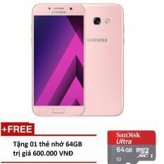Chiết Khấu Samsung Galaxy A7 2017 32Gb Pink Hang Phan Phối Chinh Thức 01 Thẻ Nhớ 64Gb