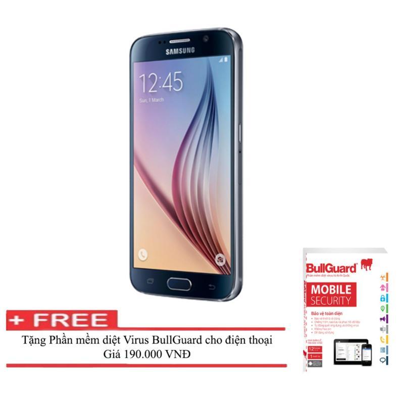 Samsung Galaxy S6 G920 32GB (Đen) + Tặng Phần mềm diệt Virus BULLGUARD (Anh quốc) - Hàng nhập khẩu