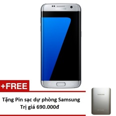 Giá Bán Samsung Galaxy S7 Edge 32Gb G935 Bạc Hang Nhập Khẩu Tặng Pin Sạc Dự Phong 10 000Mah Mới Rẻ
