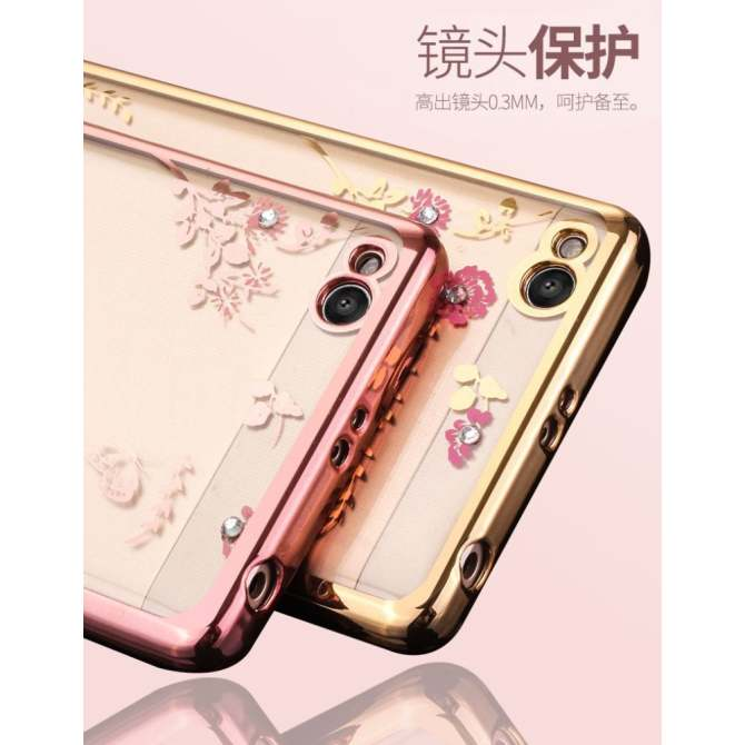 ... OPPO NEO 7 PHOENIX GOLD INTL. Soft designer Garden Electroplating TPU Back Cover Case For Redmi note 4. Source · Khu