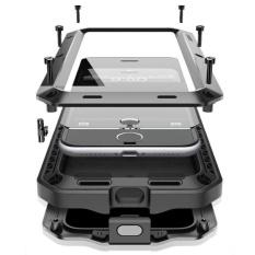 Hình ảnh Ốp lưng bảo vệ kèm kính cường lực dành cho điện thoại Iphone 7 Plus 5.5 inch - màu đen