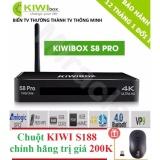 Cửa Hàng Sieu Phẩm Android Tivi Box Kiwibox S8 Pro Tặng Chuột Kiwi S188 Trị Gia 200K Kiwibox Trực Tuyến