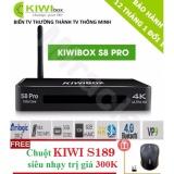 Mua Sieu Phẩm Android Tivi Box Kiwibox S8 Pro Tặng Chuột Kiwi S189 Trị Gia 250K Phan Phối Bởi Miracles Company Kiwibox