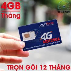 Giá Bán Sieu Sim 4G Mobifone Mdt250A Giống F500 Trọn Goi 1 Năm 4Gb Thang Mobifone Việt Nam