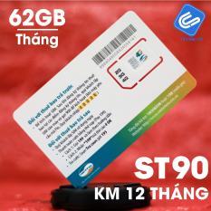 Bán Sieu Sim Dcom 3G 4G Viettel St90 Km 60Gb Thang Tặng Thang Đầu Sieu Hot 2018 Rẻ Hà Nội