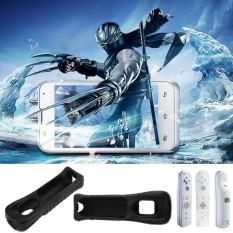 Ốp Lưng silicon dành cho Nintendo Wii Remote Điều Khiển Từ Xa Ốp Lưng Da Túi Đeo Tay-quốc tế