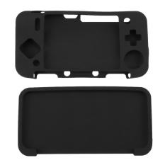 Hình ảnh Ốp Lưng silicon Lưng Da dành cho New Nintendo 2DS XL/2DS LL Tay Cầm Chơi Game (Đen)-quốc tế
