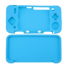 Silicone Cover Skin Case for New Nintendo 2DS XL /2DS LL Game Console ( Blue ) - intl