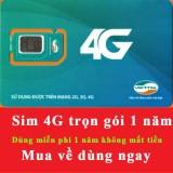 Bán Sim 3G 4G Viettel 4Gb 1 Thang Trọn Goi 1 Năm Khong Nạp Tiền Trực Tuyến
