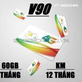 Bán Sim 3G 4G Viettel V90 Km 60Gb Thang Gọi Miễn Phi Rẻ