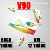 Bán Sim 3G 4G Viettel V90 Km 60Gb Thang Tặng Thang Đầu Tien Gọi Miễn Phi Trực Tuyến Cà Mau