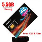 Giá Bán Sim 3G 4G Vinaphone 5 5Gb 1 Thang Trọn Goi 1 Năm Khong Nạp Tiền Nhãn Hiệu Vinaphone