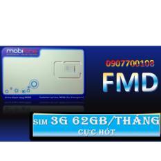 Giá Bán Rẻ Nhất Sim 3G Mobifone 62Gb Thang Xanh