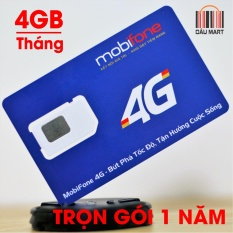 Mua Sim 4G Data Mobifone Mdt250A Trọn Goi Khong Cần Nạp Tiền 1 Năm Mobifone Rẻ