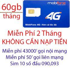 Chiết Khấu Sim 4G Mobi C90 Miễn Phi 2 Thang Khong Cần Nạp Tiền